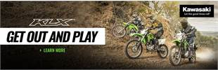 "2020 KLX® FAMILY ""GET OUT AND PLAY"""