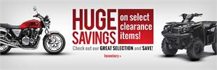 Click here to check out our huge savings on clearance items!