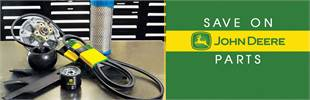 Save on John Deere parts!