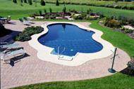 Inground vinyl liner pools