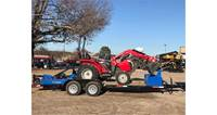 2018 Massey Ferguson 1734E Hydro Package Deal