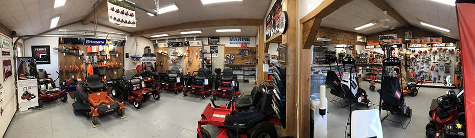 BG Marine & Small Engines Showroom