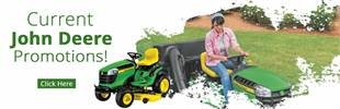 John Deere promotions. Click here now!
