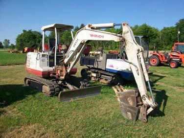 Takeuchi TB 125 Mini Excavator