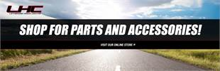 Shop for parts and accessories! Click here to visit our online store.