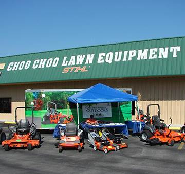 Store Choo Choo Lawn Equipment