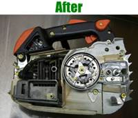 Chainsaw Refurbishing Service