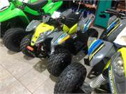 2019 Polaris Outlaw 50 Lime Gray (2)