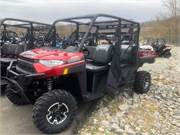 2019 Polaris Ranger 1000 XP Crew Sunset Red