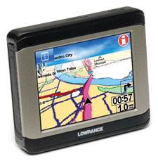 XOG - Road-Trail-Water Crossover Navigator by Lowrance