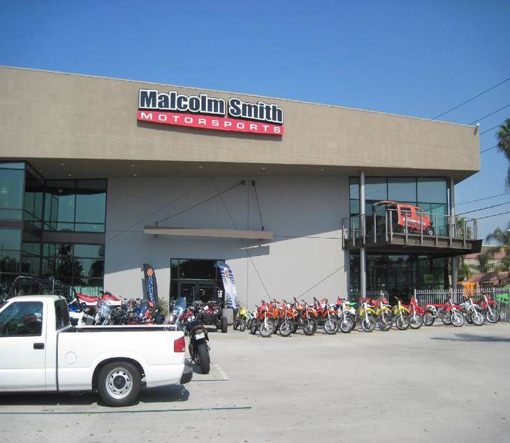 Malcolm Smith Motorsports shop