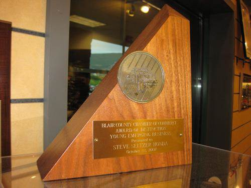 Blair Chamber of Commerce's Young Emerging Business Award: 2007 - Actual
