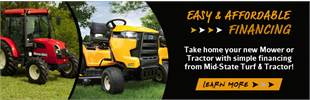 Lawn Mower & Tractor Financing Options in Springfield