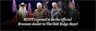MT&T is proud to be the official Branson dealer to The Oak Ridge Boys!