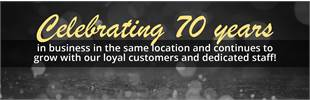 Bair's Lawn and Garden is celebrating 70 years in business in the same location and continues to grow with our loyal customers and dedicated staff!