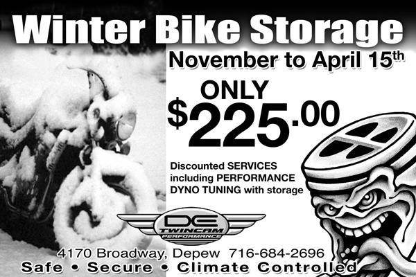 Winter Bike Storage