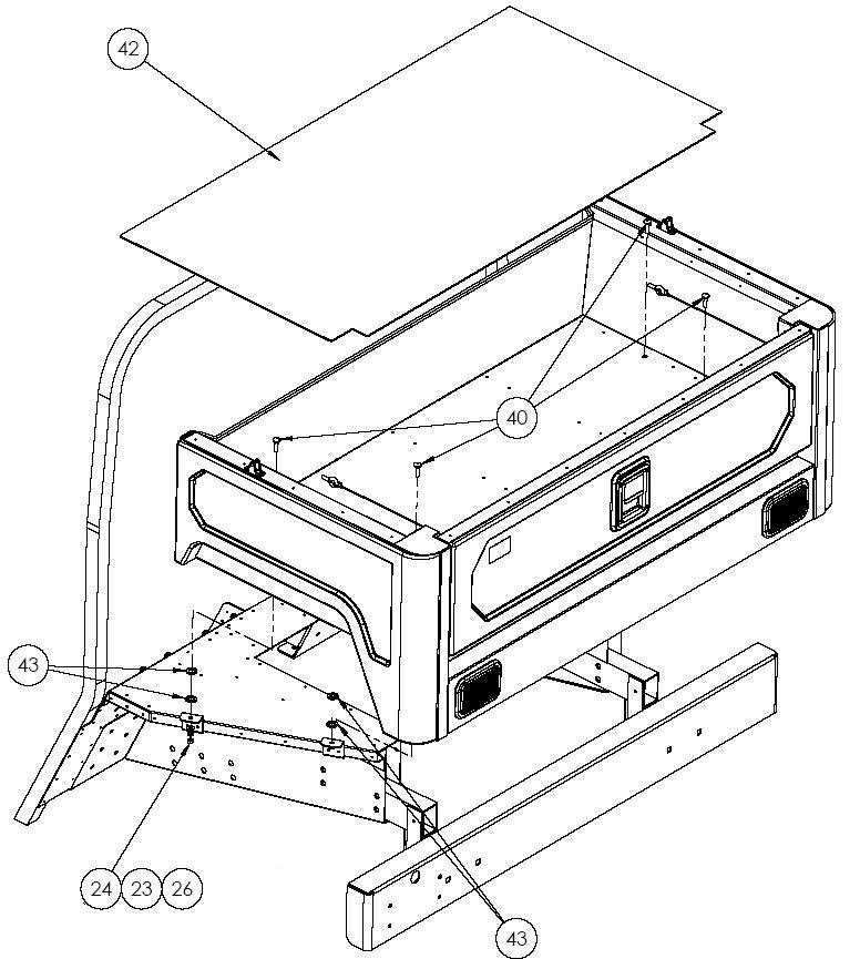 Pickup box mounting Beg.to 2013-03-11