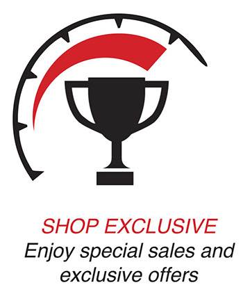 Shop Exclusive. Enjoy special sales and exclusive offers.