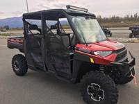 2019 Polaris Industries RANGER CREW® XP 1000 EPS Premium - Sunset Red