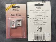 RV DESIGNER PART # A131 WHITE END STOP