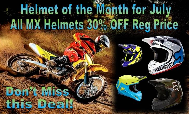 Helmet of the Month July 2018
