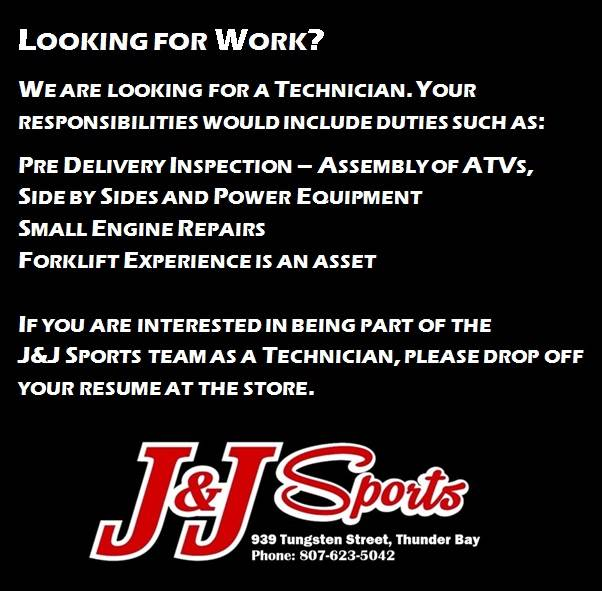 Looking for work Technician
