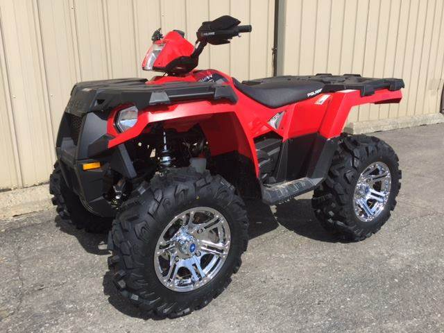 new quad new rims