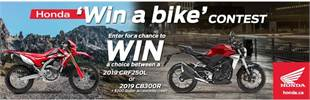 Honda Win a Bike
