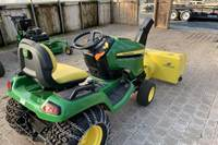 2018 John Deere USED X580 & 47-in Snowthrower / No Deck