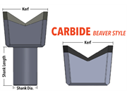 Carbide Teeth Diagram