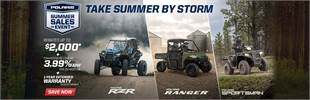 Polaris Summer Sales Event - Take Summer By Storm