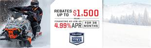 Polaris Summer Sales Event - Rebates Up To $1,500