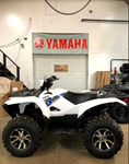 2019 Yamaha Grizzly EPS - White, Dark Red