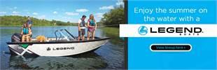 Enjoy the summer on the water with a Legend boat! Click here to view the lineup.