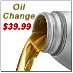$39.99 Oil Changes