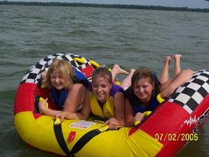 Tubing at Lindy's Landing