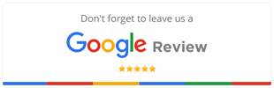 Don't forget to leave us a Google Review!