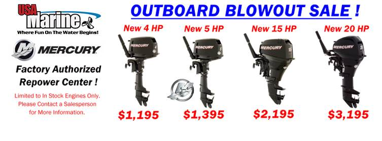 Small Outboard Blowout Ad
