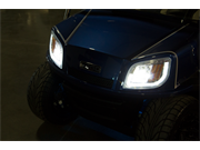 LED Headlights On