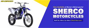 Sherco motorcycles are now available at Monty's Motorsports!