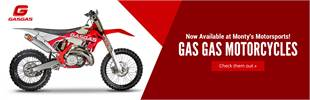 Gas Gas motorcycles are now available at Monty's Motorsports!