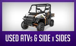 Used ATVs & Side x Sides