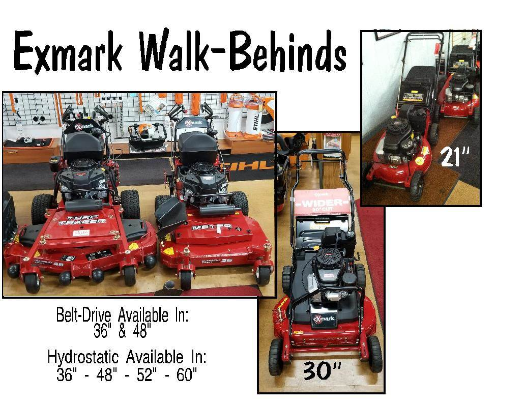 Exmark Walkbehind 2018