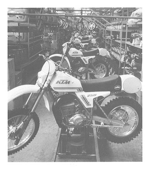 Production 250ccm Offroad 1980