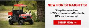 Shop UTVs / Side by Sides at Straight's Lawn in Garden in NWA!