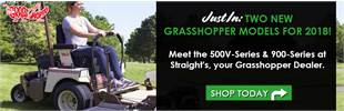 Straight's is your Arkansas Grasshopper Mower Dealer! Shop New 2018 Frontmount mowers.