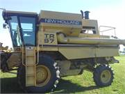 NH TR97 Combine   left side