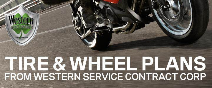 Tire and Wheel Plans are a great value for street riders. Call us for details!