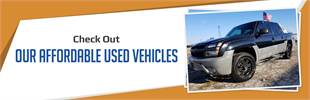 Check out our affordable used vehicles!