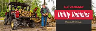 Yanmar Utility Vehicles: Click here to check out the lineup.